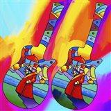 Guitars Umbrella Man