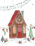 Gingerbread House I