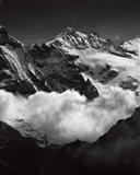 Mountains BW