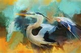 Colorful Expressions Heron