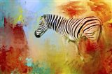 Colorful Expressions Zebra