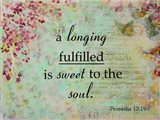 Longing Fulfilled