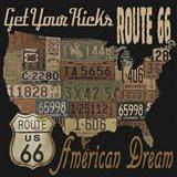 Route 66 - American Dream Kicks