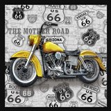 Vintage Motorcycles on Route 66-V
