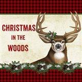 Christmas in the Woods - Deer