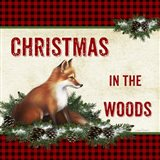 Christmas in the Woods - Fox