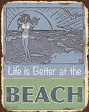 Lodge Sign - Life is Better at the Beach