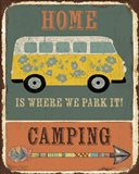 Lodge Sign - Camping