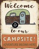 Lodge Sign - Campsite