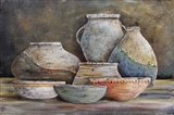 Clay Pottery Still Life-A
