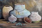 Clay Pottery Still Life-B