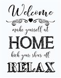 Welcome Home - White