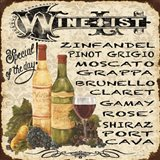 Wine List Vintage