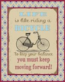 Life Bicycle Message 1
