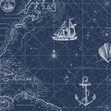 Nautical Blues  -  D