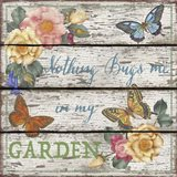 Country Garden Sign - A