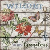 Country Garden Sign - B