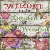 Country Garden Sign - E