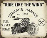 Vintage Motorcycle Mancave - D