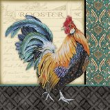 Damask Rooster - A