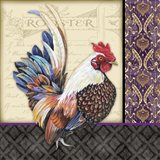 Damask Rooster - C
