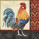 Damask Rooster - D