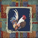 Damask Rooster - O