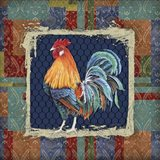 Damask Rooster - P
