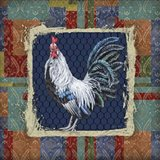 Damask Rooster - Q