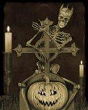Halloween Graveyard - A