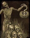 Halloween Graveyard - B