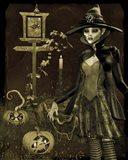 Halloween Graveyard - C