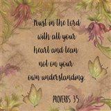 Floral Bible Verse - C
