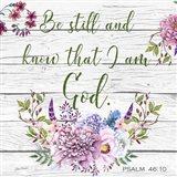 Garden Florals Bible Verse - A