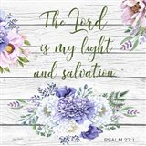 Garden Florals Bible Verse - C