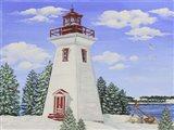 Winter Lighthouse A