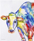 Colorful Cow A