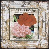 Tin Tile - Carnation
