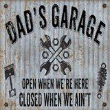 Dads Garage On Sheet Metal