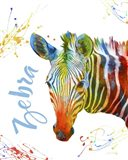Colorful Safari Animals A