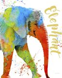 Colorful Safari Animals C