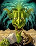 Fantasy Troll Not enough Coffee