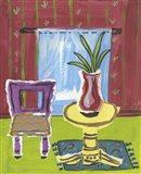 Sunroom with Vase