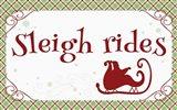 Sleigh Rides Banner