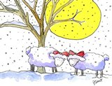 Two Sheep Xmas