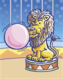 Bubble Gum Lion