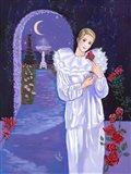 Pierrot In The Rose Garden