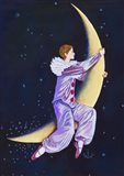Pierrot Riding The Moon