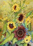 Sunflowers and Goldenrods