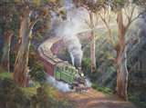 Puffing Billy In Sherbrook Forest
